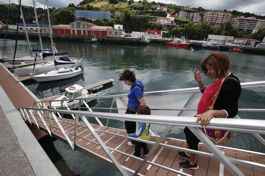 Aumenta un 18% el turismo náutico en el puerto de Bermeo