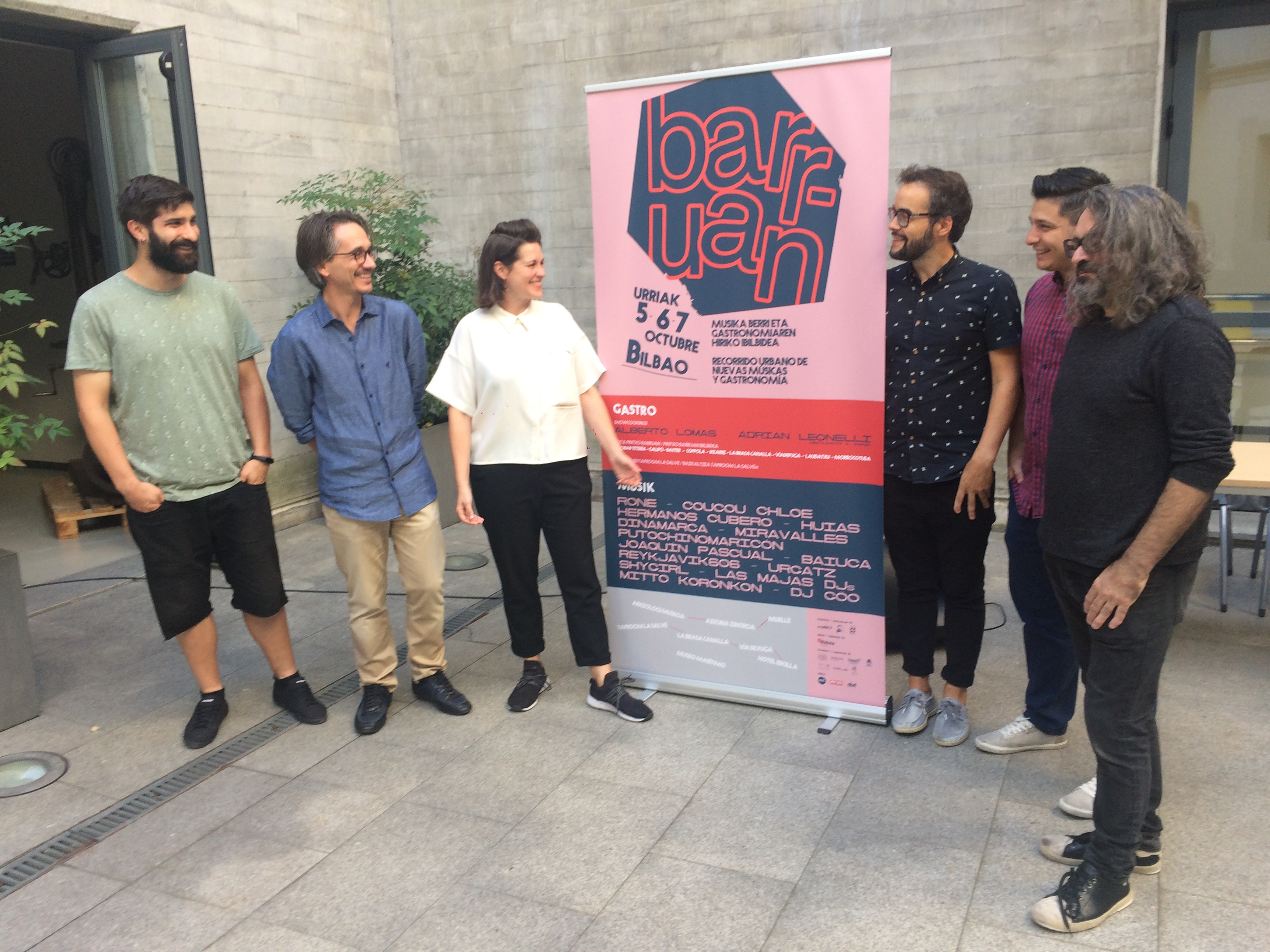 Apetito de gastronomía y música en el nuevo festival Barruan en Bilbao