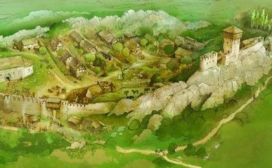 Álava busca en el castillo de Portilla un nuevo referente de su historia medieval