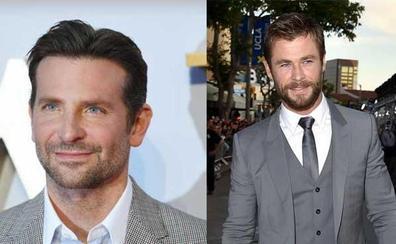 La temperatura se eleva con Bradley Cooper y Chris Hemsworth