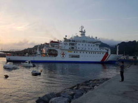 'Esperanza del mar' arriba a Bermeo