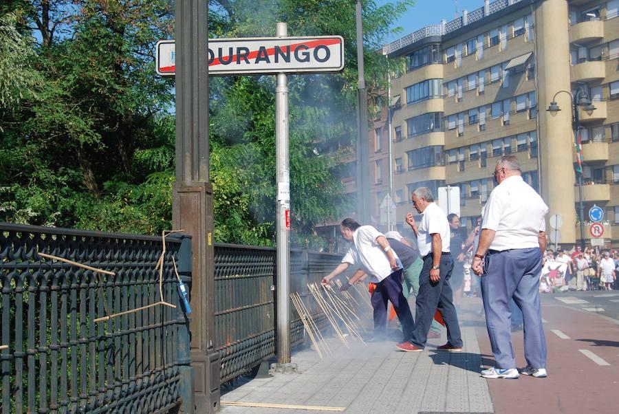 Los 'Sanmigueles' estallan en Iurreta
