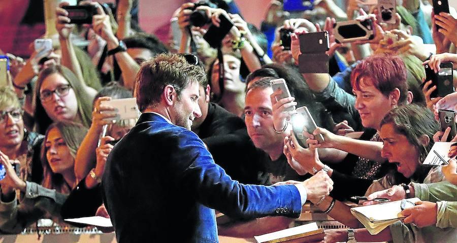 Bradley Cooper aterriza en la traca final del Festival de San Sebastián