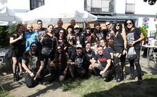 Dima disfruta con su festival de metal