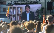 Puigdemont insiste en llevar el pulso soberanista «hasta las últimas consecuencias»