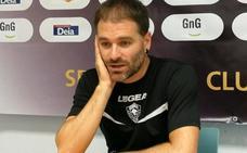 «Es increíble vernos solo con tres puntos en la clasificación», lamenta Arrondo (Gernika)