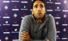 «El equipo ha hecho un gran esfuerzo», se felicita Vélez (Amorebieta)