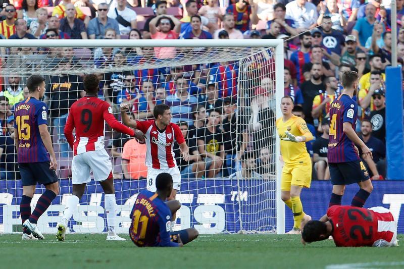 El Barcelona-Athletic, en imágenes