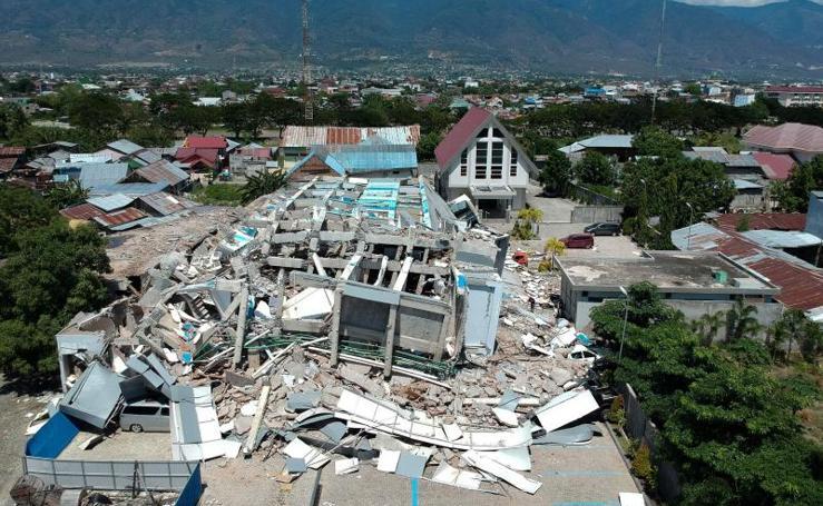 Catástrofe en Indonesia