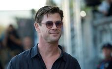 Chris Hemsworth protagoniza la clausura del Zinemaldia