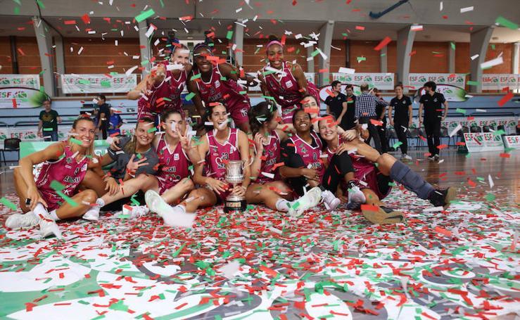 Rpk Araski, campeonas de la Euskal Kopa