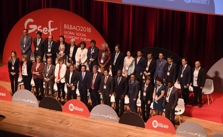 Arranque del Global Social Economy Forum en el Euskalduna