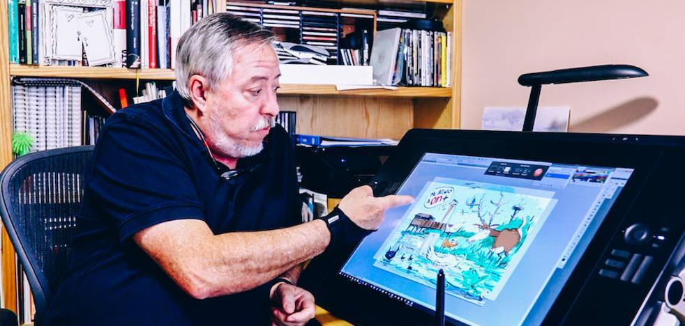 Iñaki Cerrajería desvela cómo dibuja 'La ilustración'