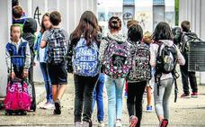 La mayoría de los escolares alaveses gozarán de 18 días de vacaciones en abril