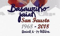 Programa de fiestas de Basauri 2018: San Faustos