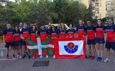 Deportistas de la Ertzaintza ganan 81 medallas en los Juegos Europeos de Policía y Bomberos