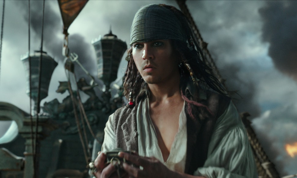 Johnny Depp, un pirata precoz