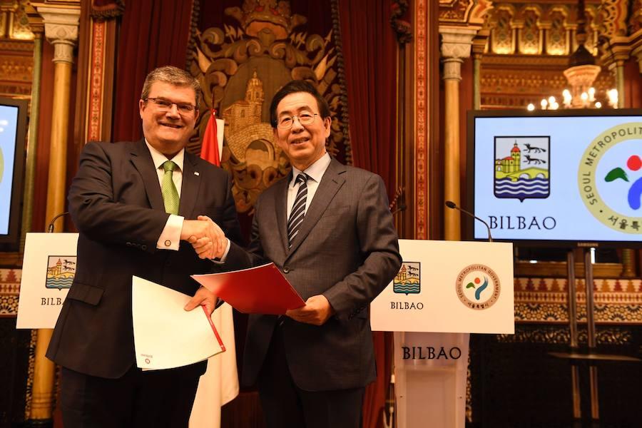 Seúl se ofrece a Bilbao para ser puente de su expansión en Asia