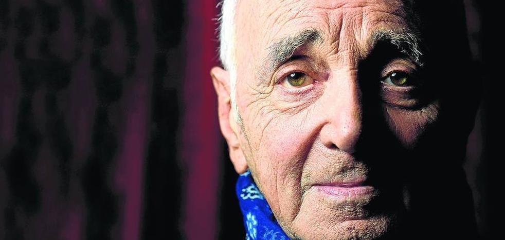 Aznavour, icono eterno