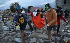Palu, «zona cero» del tsunami de Indonesia