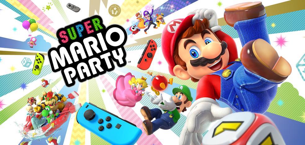 Análisis de Super Mario Party: la fiesta en cualquier parte