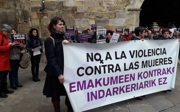 Concentración en Durango contra la agresiones sexuales./YOLANDA RUIZ