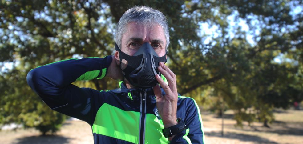 La 'máscara milagrosa' que ayuda a Martín Fiz con la recuperación