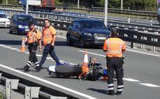 Cinco motoristas han perdido la vida en las carreteras vizcaínas en 2018