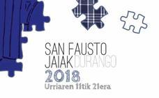 Programa de fiestas de Durango 2018: San Fausto Jaiak