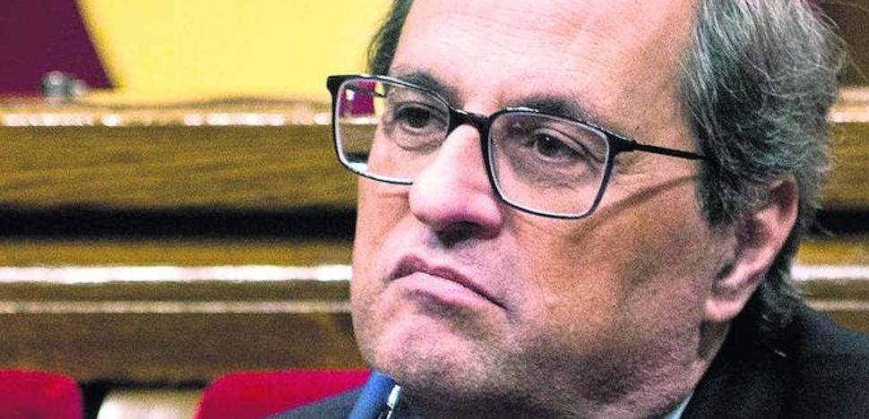El PNV y Torra amenazan a Sánchez con dejarle caer si no cede a sus exigencias