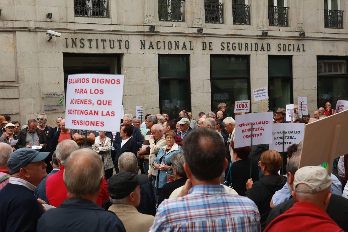 Un jubilado alavés cobra 512 euros más al mes que uno de Ourense