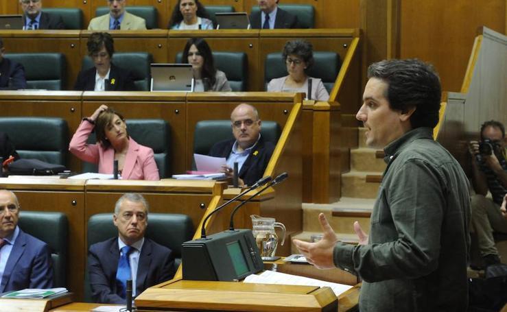 Zubiri, el ciudadano que ha hecho historia en la política vasca