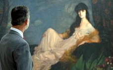 El Rey disfruta en el Bellas Artes