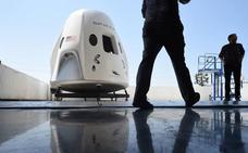 El primer vuelo de SpaceX con astronautas será en junio de 2019