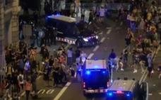 Unos 4.500 mossos protestan en la calle por el dispositivo policial del 1-O