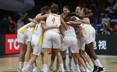 El basket femenino también puntúa en las audiencias de televisión