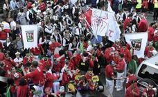 Las calles de Basauri se preparan para acoger los nueve días de los 'sanfaustos'