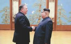 Pompeo y Kim acuerdan celebrar una segunda cumbre «lo antes posible» tras lograr «progresos» en Pyongyang