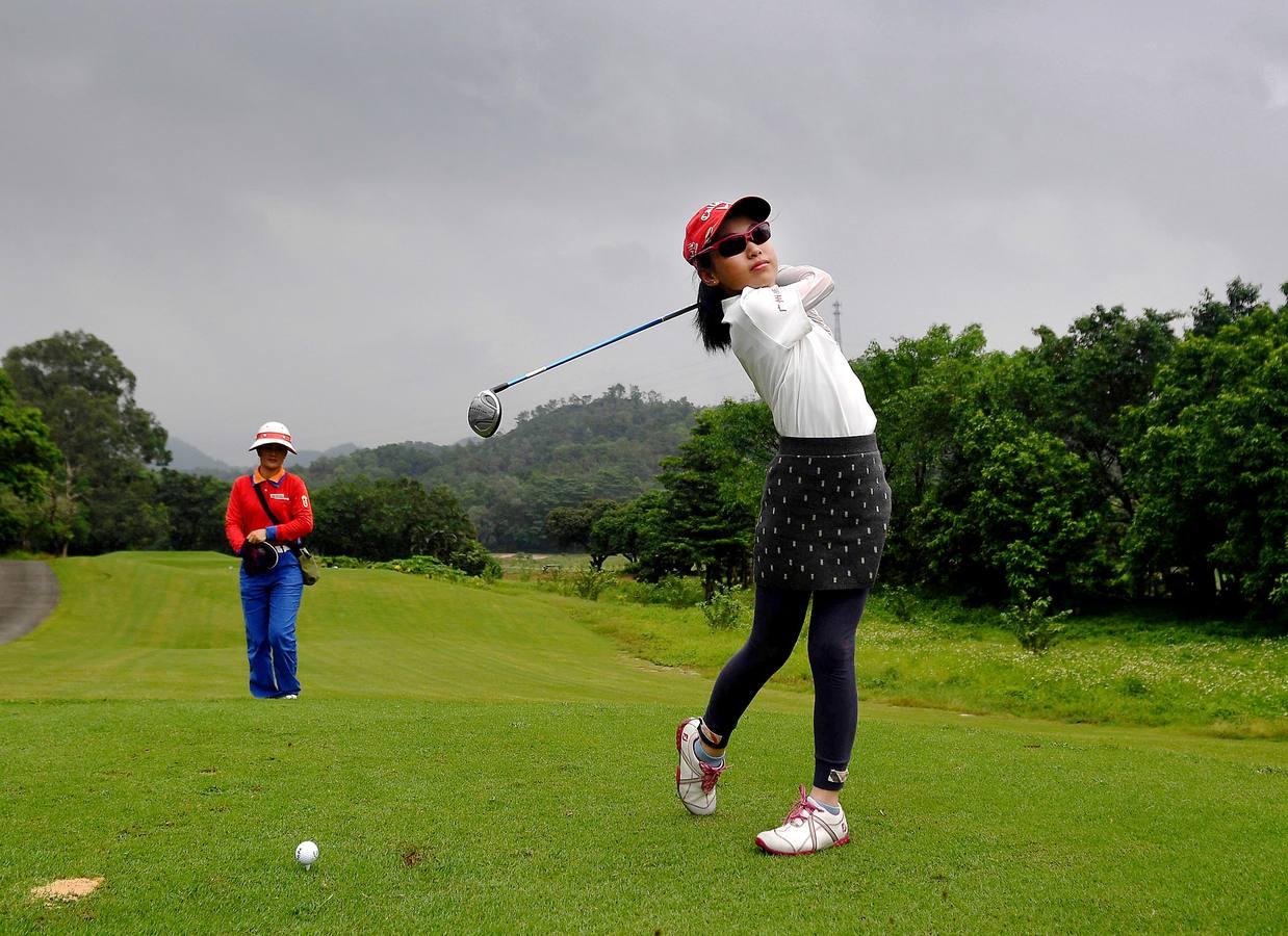 Cantera de golfistas