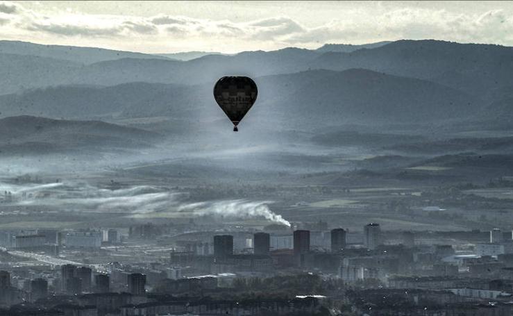 Vitoria, a vista de globo