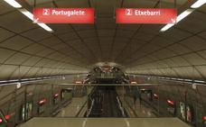 Un enajenado siembra el pánico en el metro en Abatxolo al esgrimir un cuchillo