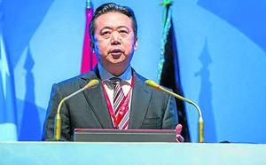El exjefe de Interpol, acusado de corrupción en China
