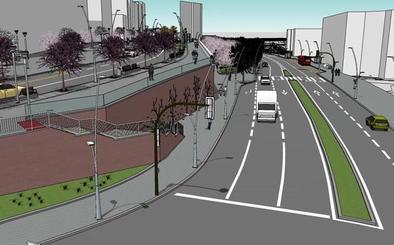 Así será la reforma del acceso a Bilbao que «va a cambiar la fisonomía» de Basurto