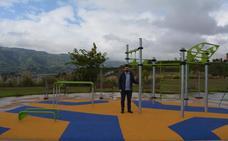 Sestao abre un nuevo parque con máquinas de actividad física en Las Camporras