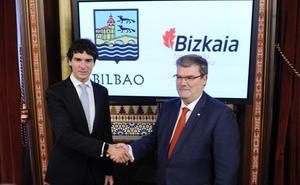 Rementeria y Aburto anuncian 30 millones en diez años para crear nuevas empresas en Bilbao