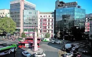 El edificio del café La Granja en Bilbao se transformará en un hotel