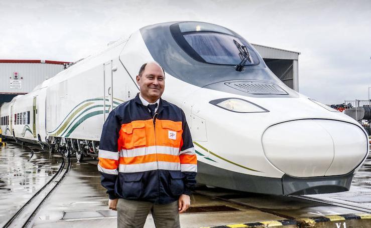 Así son los trenes del AVE que Talgo pone en marcha entre Medina y La Meca
