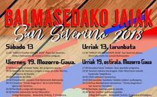Programa de fiestas de Balmaseda 2018: San Severino Jaiak