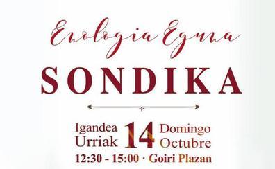 Sondika se prepara para una nueva edición del Enologia Eguna este domingo