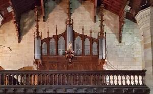Un concierto conmemorará el centenario del órgano que guarda la iglesia de Plentzia